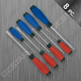 8 Pc. Cushion Grip Non-Slip Power Screwdriver