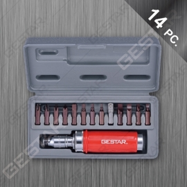 14 Pc. Impact Driver Set with Bits