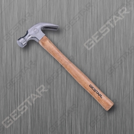 Claw Hammer with Wood Handle
