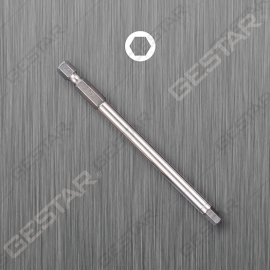 "Round Shank Power Bit - 1/4"" Hex x 100mmL"
